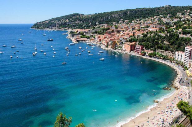 La magnifique ville de Villefranche sur Mer