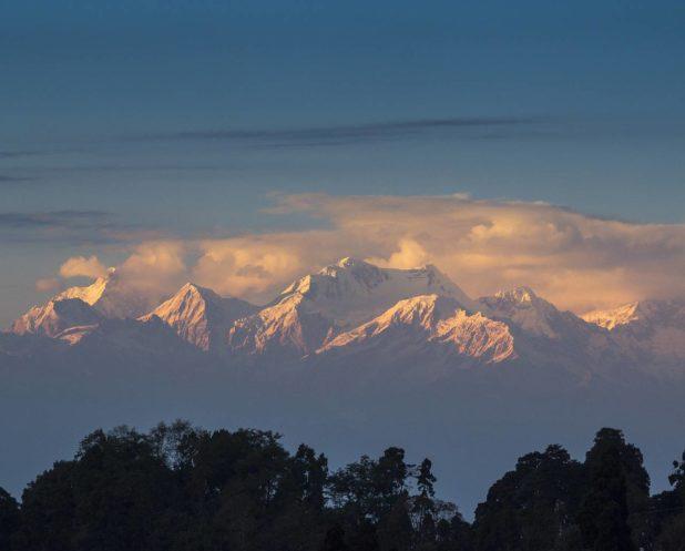 Vue depuis Darjeeling