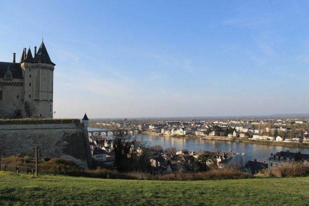 Château de Saumur dans le Val de Loire