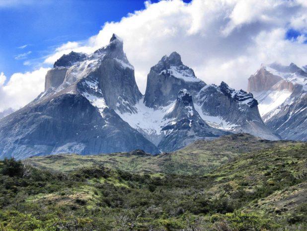 Montagne dans le parc National Torres del Paine