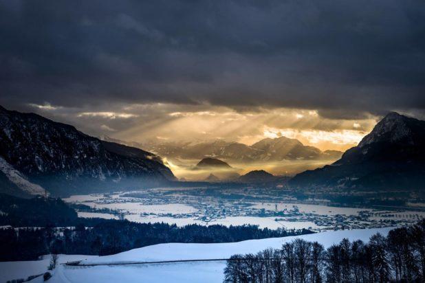 Paysage à Kufstein