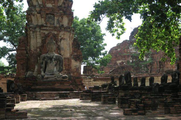 Temple Ayutthaya - Wat Mahathat
