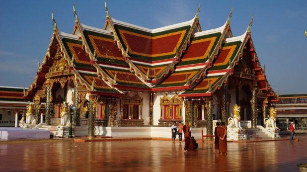 Temple Wat Phra en Thaïlande