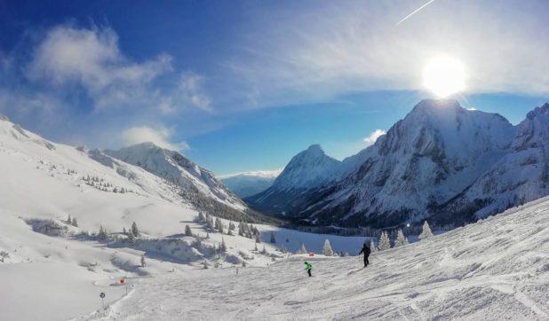 Ski dans la région du Tyrol