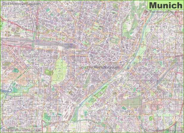Carte de Munich