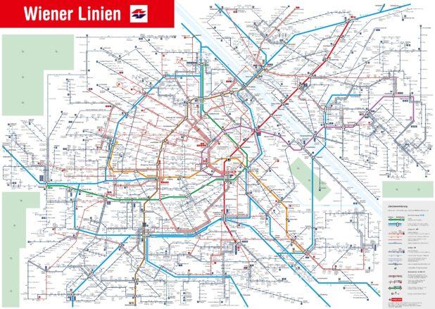Carte des transports publics