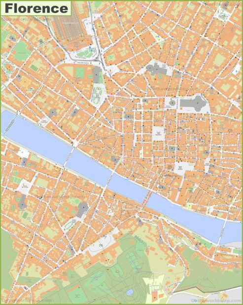 Carte de Florence