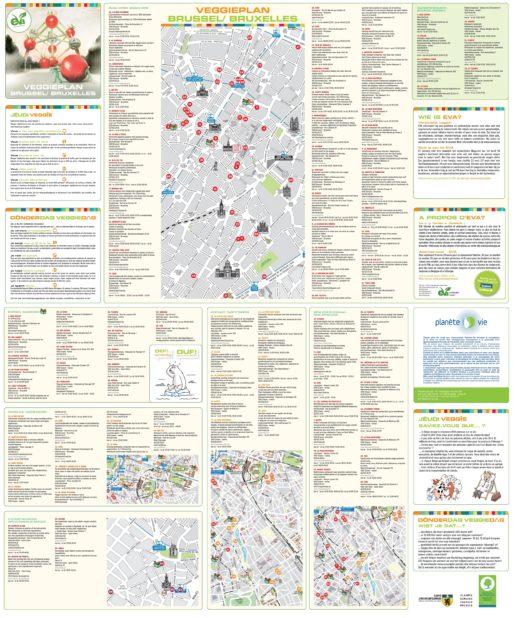 Carte du tourisme à Bruxelles
