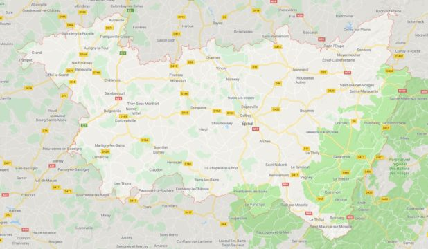 Vosges carte