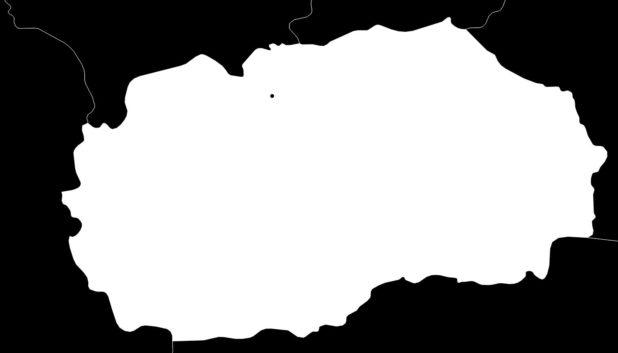 Carte vierge de la Macédoine