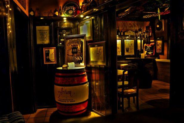 Un pub en Irlande